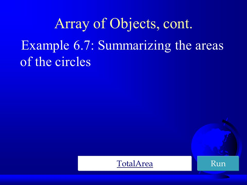 Class Abstraction Class abstraction means to separate class implementation from the use of the class.