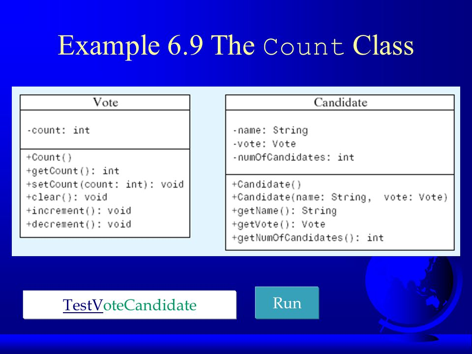 Java API and Core Java classes  java.lang Contains core Java classes, such as numeric classes, strings, and objects.