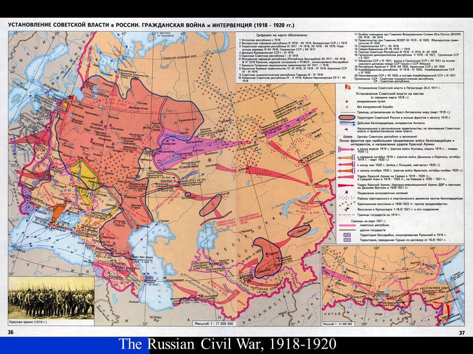 The Russian Civil War, 1918-1920