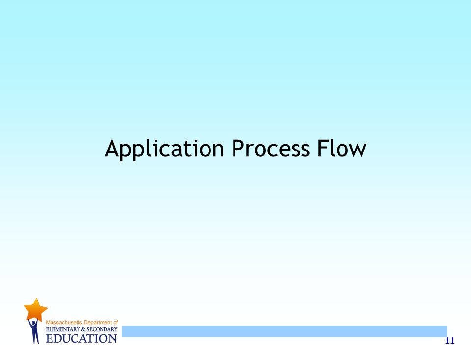 11 Application Process Flow