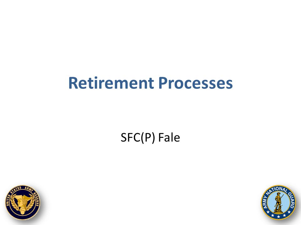 How to transfer to the Retired Reserve Separation/Discharge Gray Area Benefits Early Retired Pay Eligibility Non-Regular Retired Pay Application Process Receiving First Payment 2 Agenda