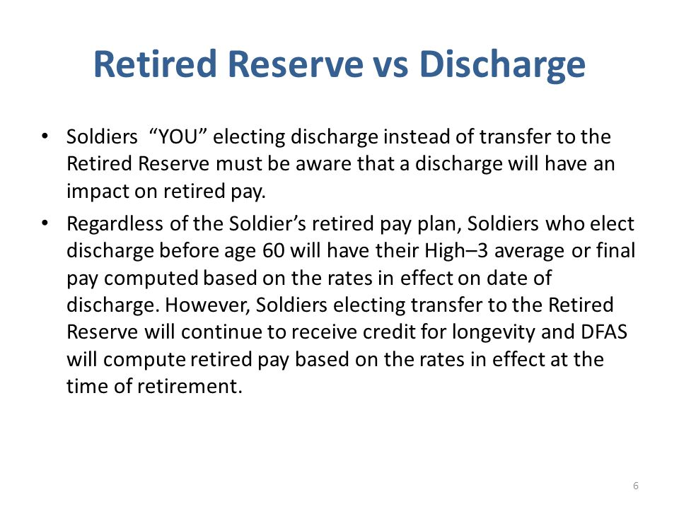The reserve retired pay application is sent to: HR Center of Excellence ATTN: ARHC-PDR-RCR 1600 Spearhead Division Ave Department 482 Ft Knox, KY 40122-5402 27 Mailing Address