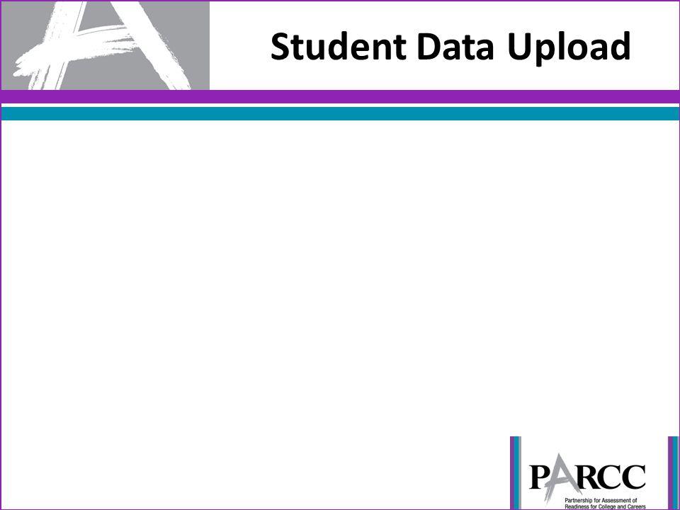 Student Data Upload