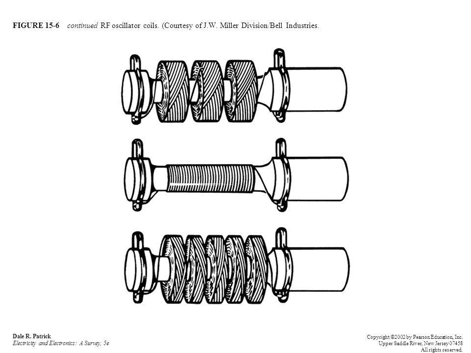 FIGURE 15-6 continued RF oscillator coils. (Courtesy of J.W. Miller Division/Bell Industries. Dale R. Patrick Electricity and Electronics: A Survey, 5