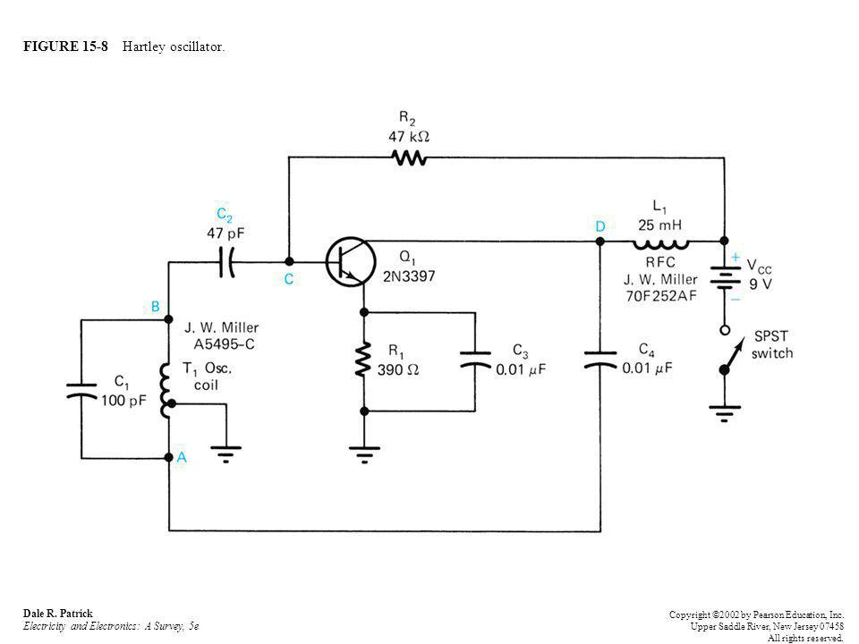 FIGURE 15-9 Colpitts oscillator.Dale R.