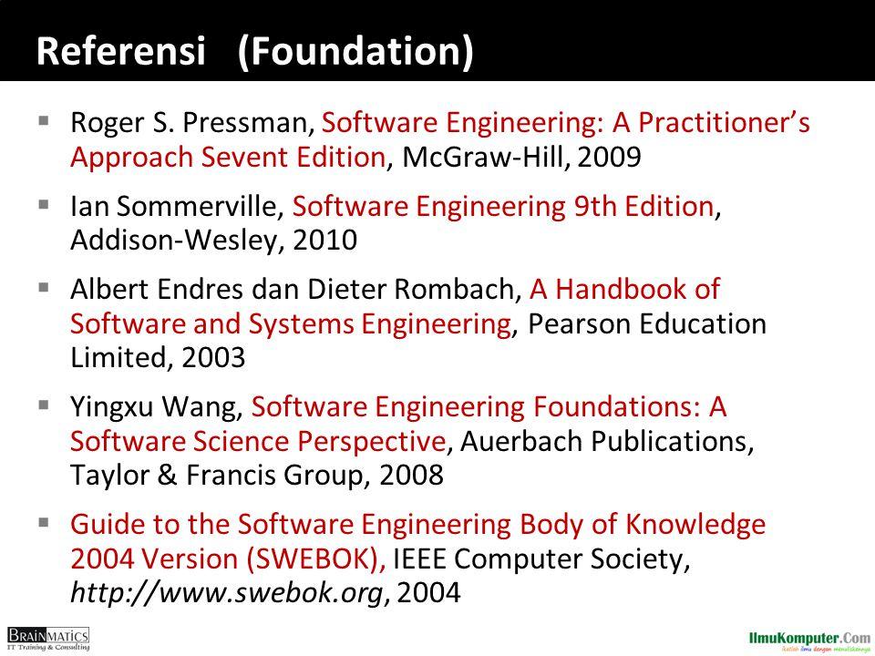 Referensi (Foundation)  Roger S.