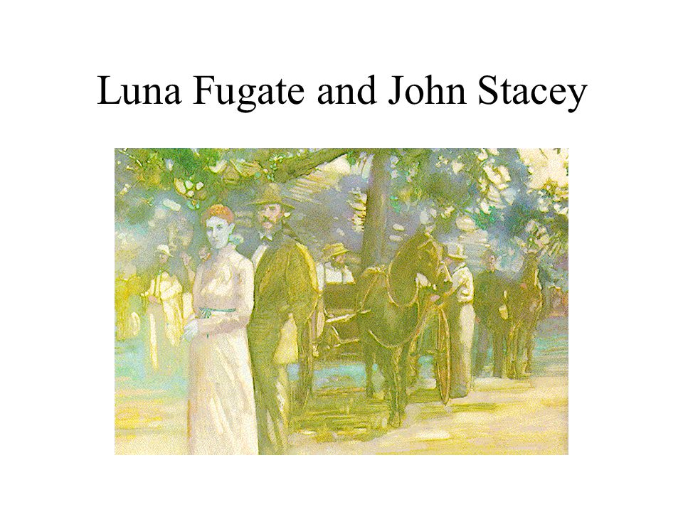 Luna Fugate and John Stacey