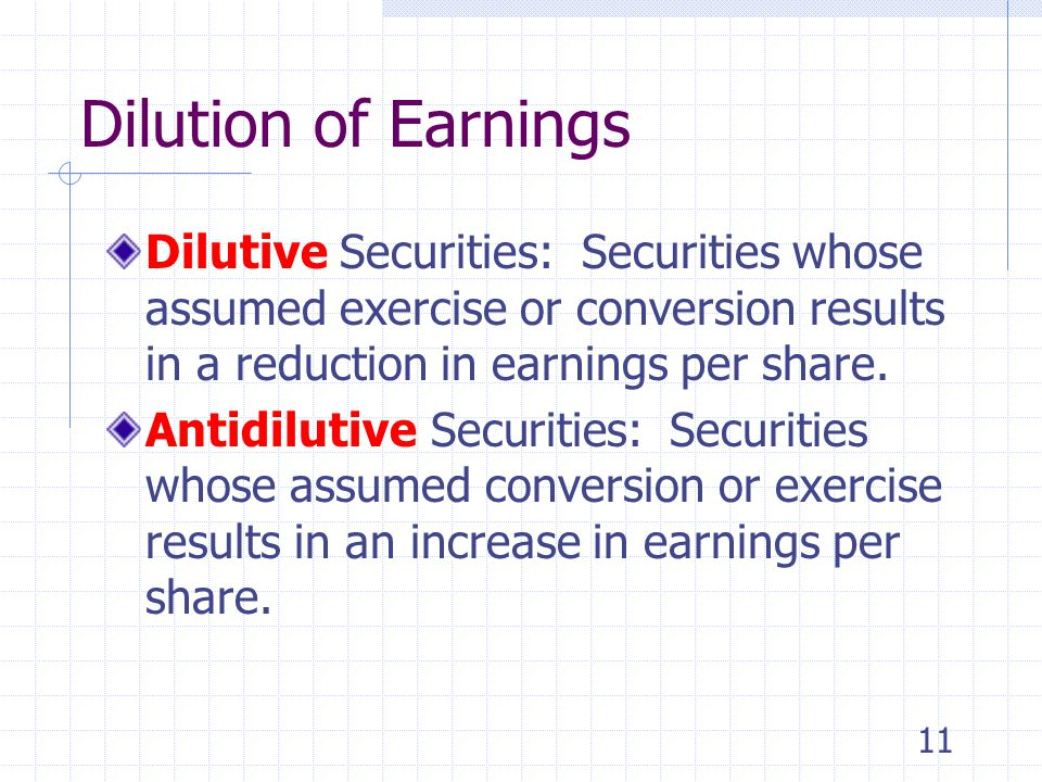 10 Capital Structures Therefore, a company with potential per share dilution is considered to have a complex capital structure.