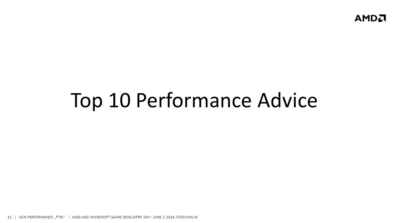 "| GCN PERFORMANCE ""FTW 