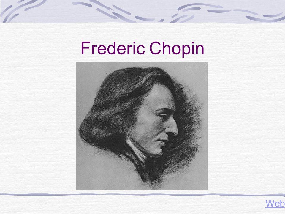 Frederic Chopin Web