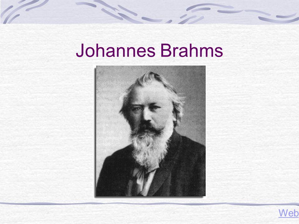 Johannes Brahms Web