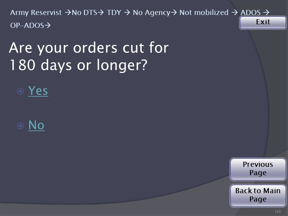  Yes Yes  No No Are your orders cut for 180 days or longer.