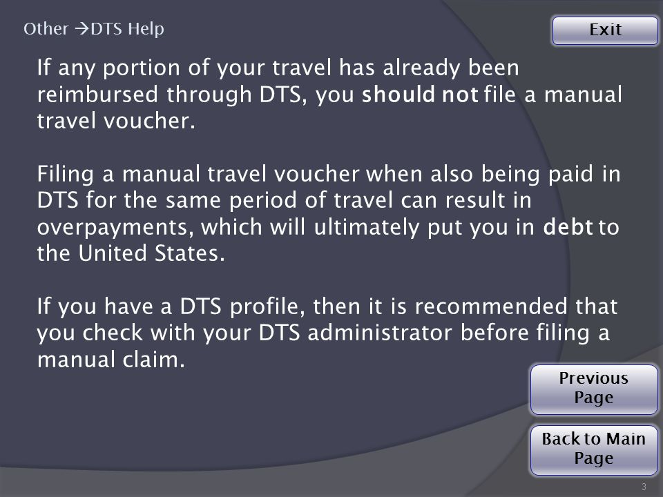 Your travel claim type is a… Special Actions TDY  Please submit your claim/advance to DFAS-IN Travel Pay: Special Actions Division for processing.