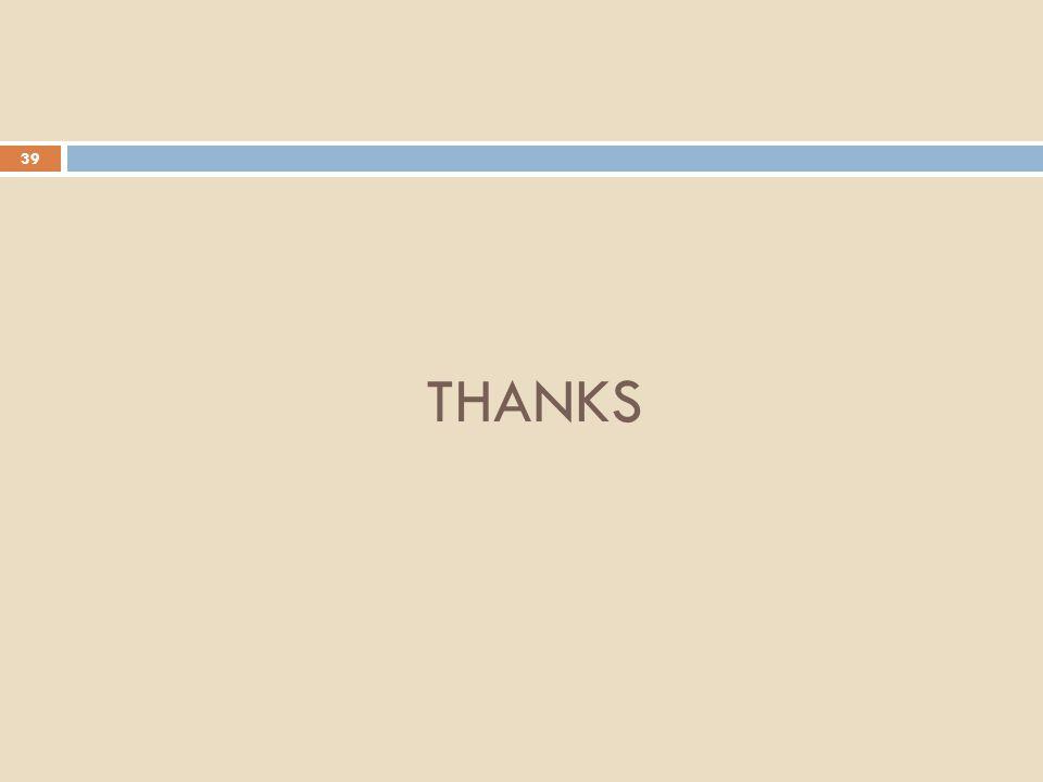 39 THANKS