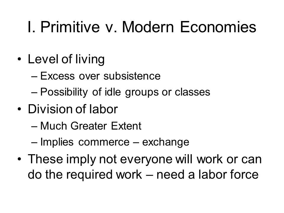 I. Primitive v.