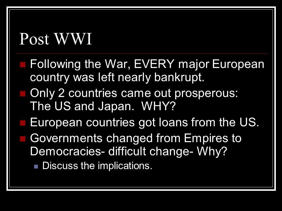 Weimar Republic- Germany 1919- was organized.