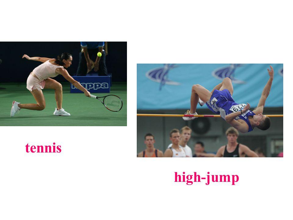 tennis high-jump