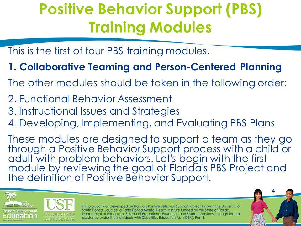 5 The PBS Process