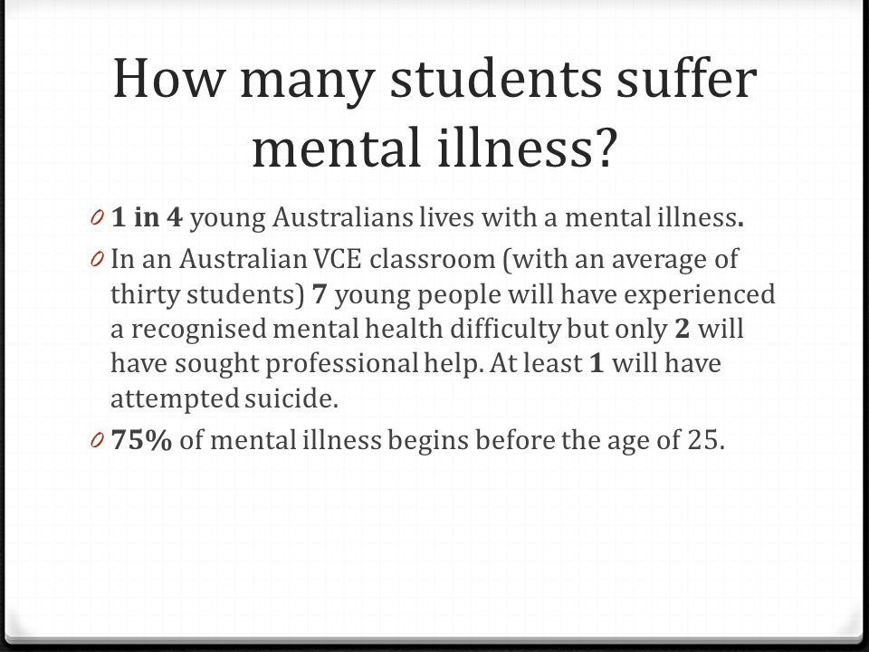 How many suicides are we seeing each year.