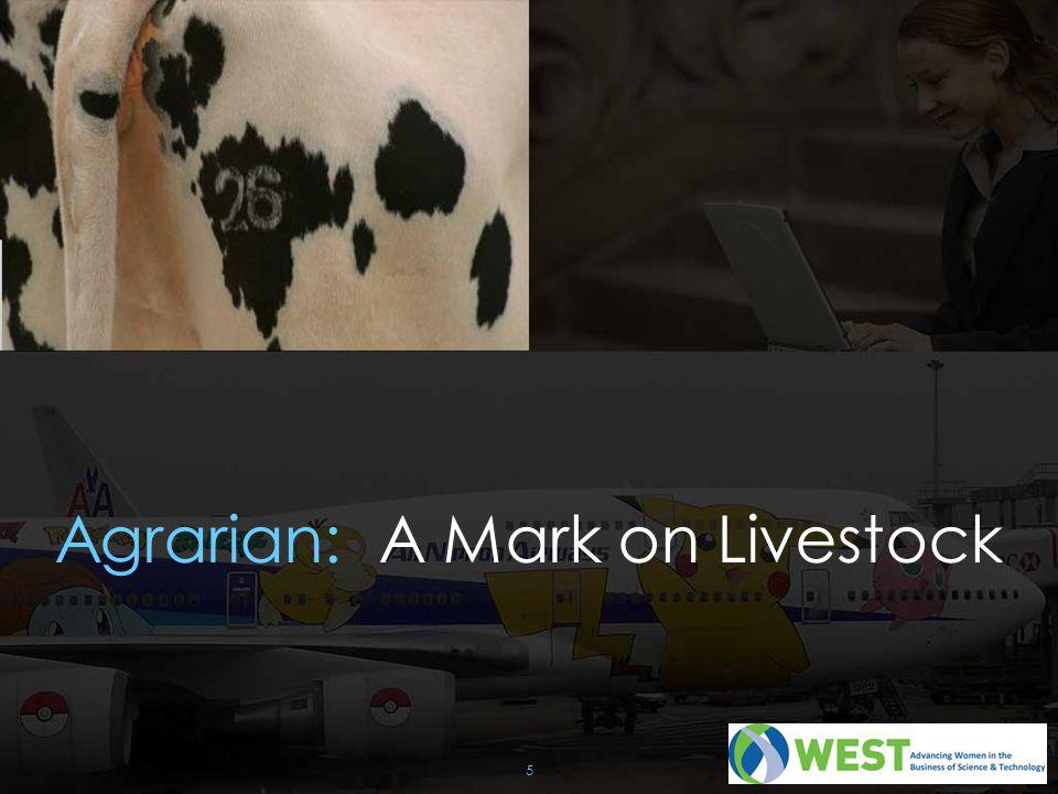 5 Agrarian: A Mark on Livestock