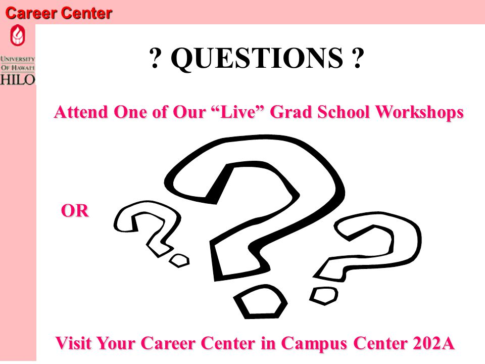 Career Center Final Cautions Have It Proofread by an English Expert.