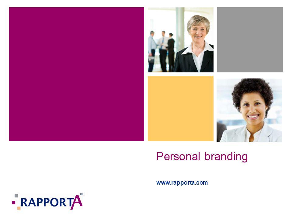 Personal branding www.rapporta.com