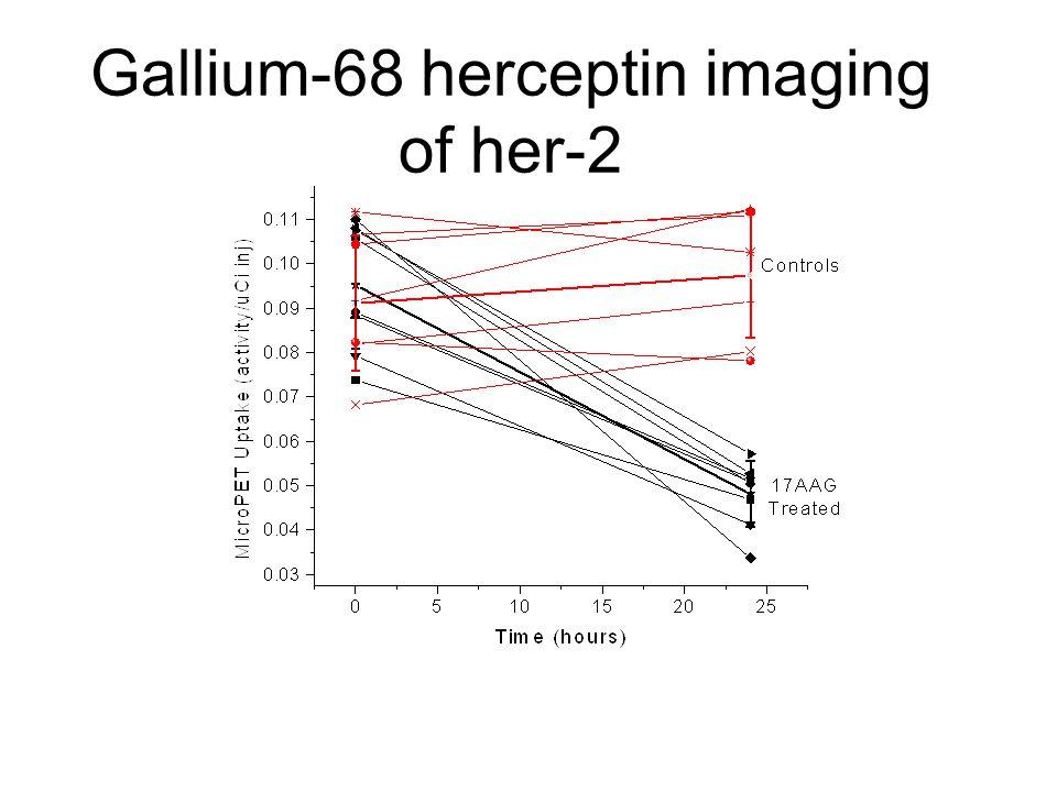 Gallium-68 herceptin imaging of her-2
