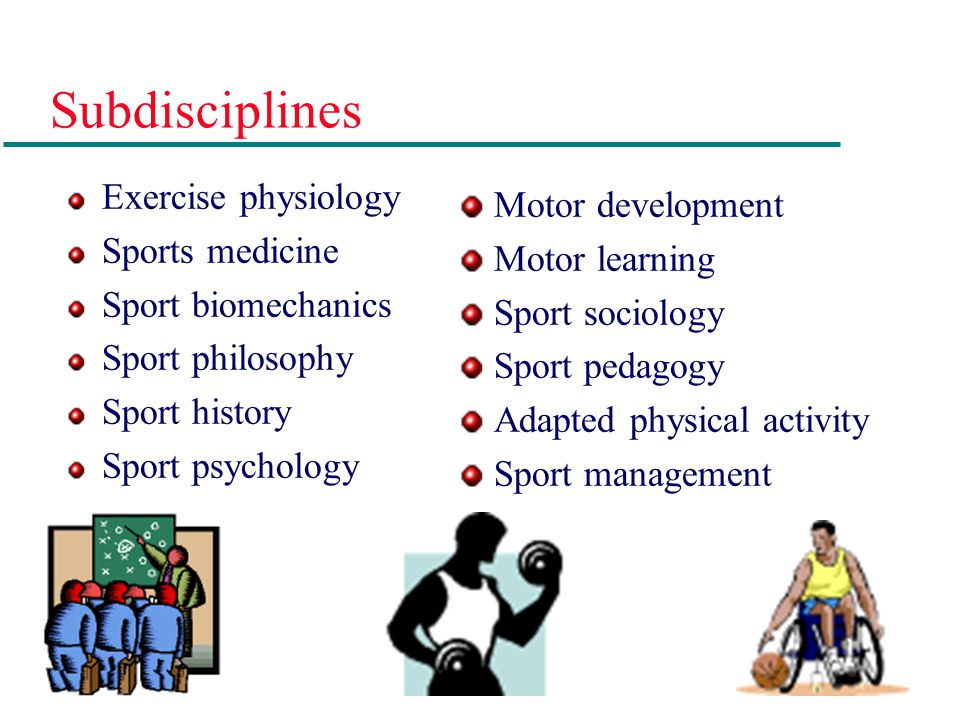 Organizing The Profession With developing technologies, knowledge, and methods of inquiry from other disciplines in the 1960s, physical education, exercise science, and sport broadened its horizons to incorporate the fields of psychology and sociology.