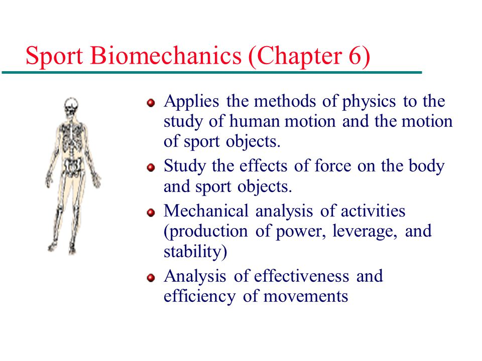 Sports Medicine (Chapter 12) Medical relationship between physical activity, sports-related injuries, and the human body.