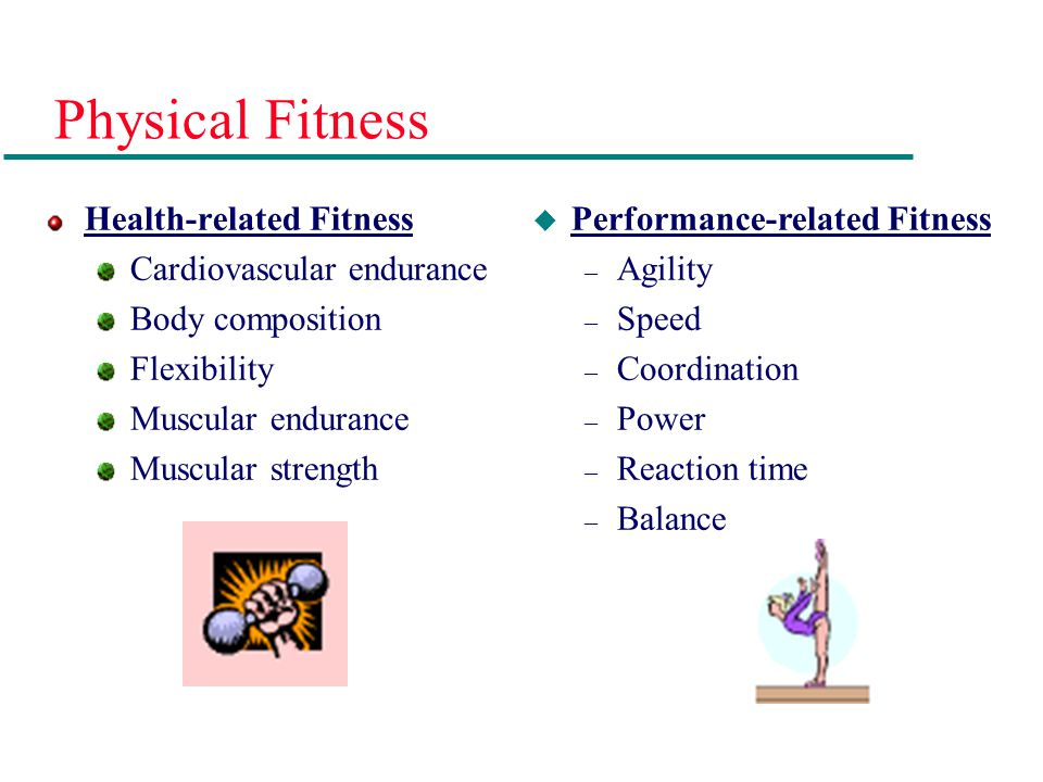 Definition of Terms Physical Fitness: the ability to perform daily tasks with vigor and without undue fatigue, and with sufficient energy to engage in