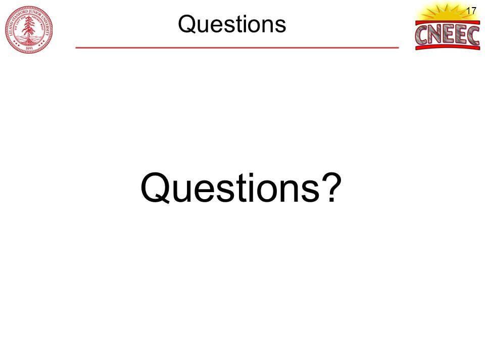 17 Questions Questions