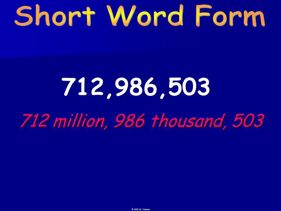 712,986,503 712 million, 986 thousand, 503