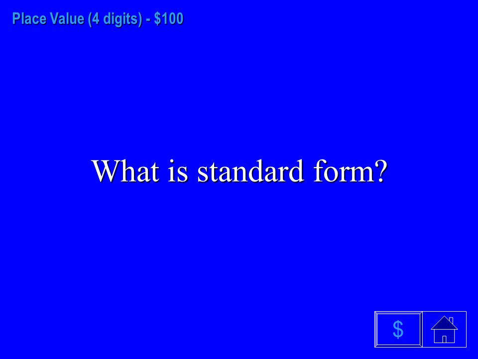 Place Value (3 digits)- - $500 What is a graph $