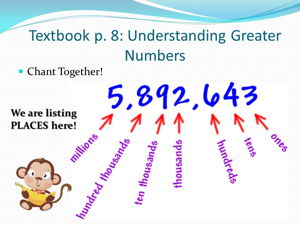 Glue Chart in math notebook We are listing PLACES here!