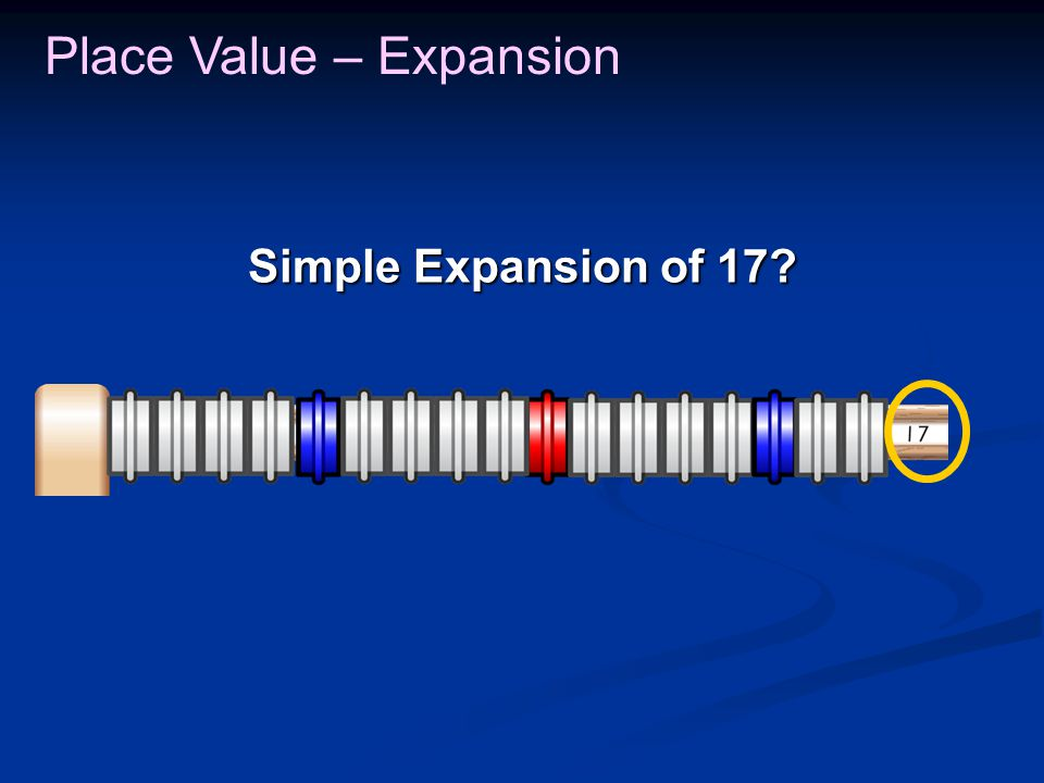 Place Value – Expansion 100 62 236 362 100 200 300 62 100 200 The 2 in 236 is two groups of 100.