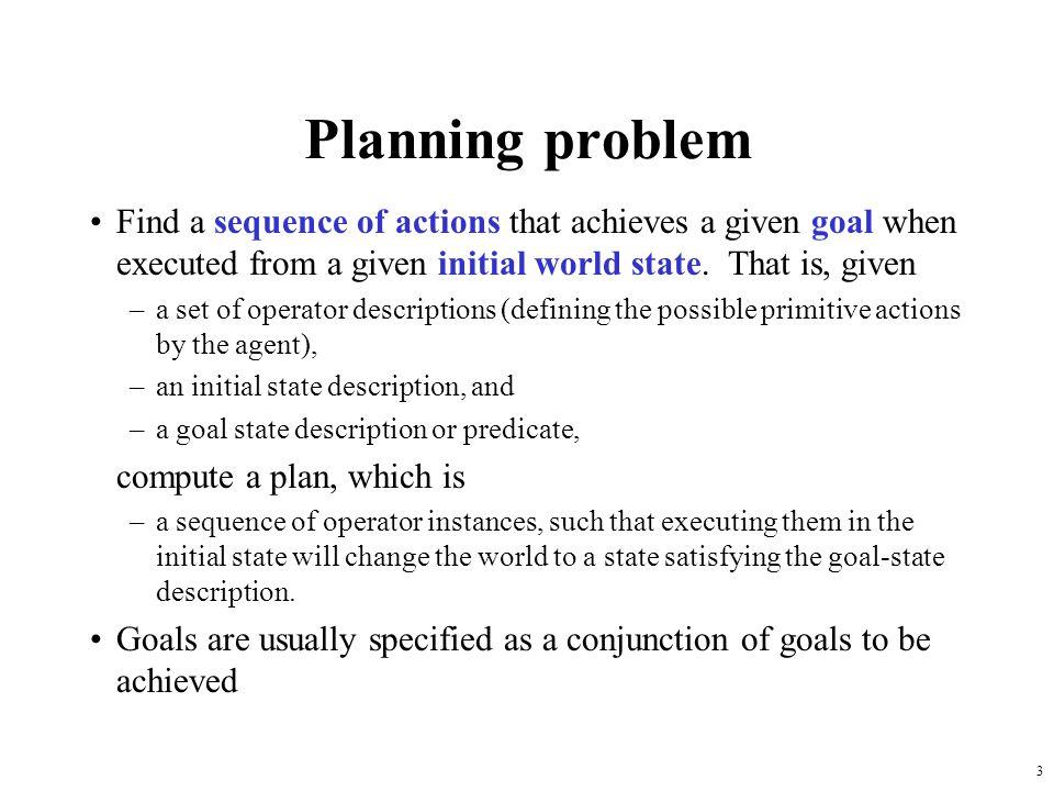 4 Planning vs.