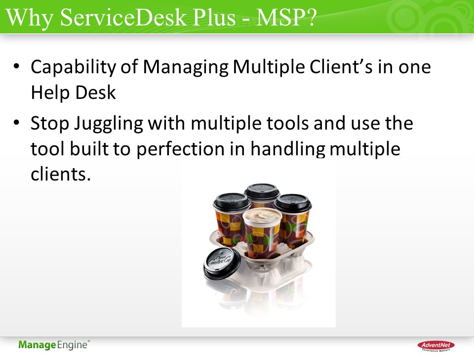 Why ServiceDesk Plus - MSP.