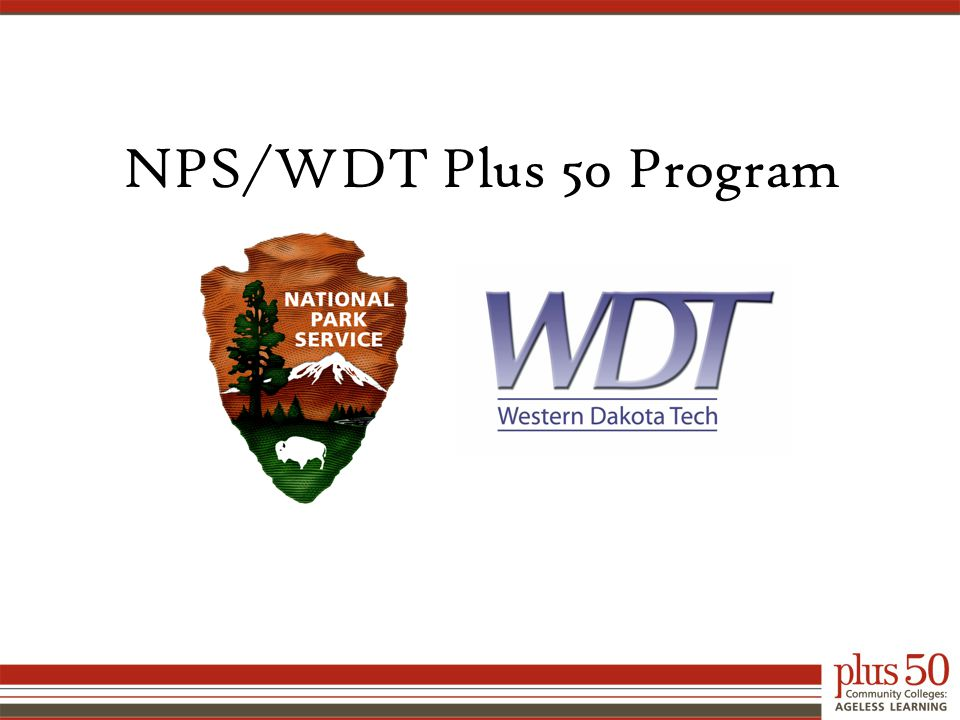 NPS/WDT Plus 50 Program