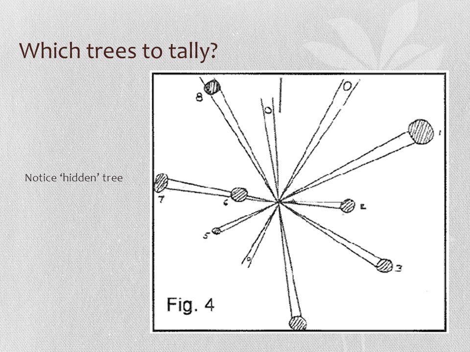 Trees per Acre Trees per acre = no.