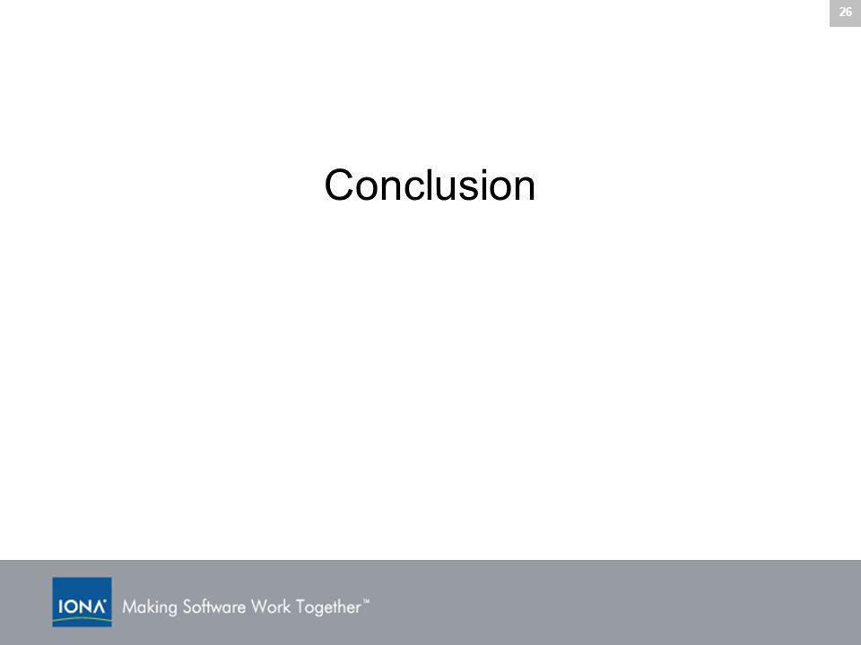 26 Conclusion