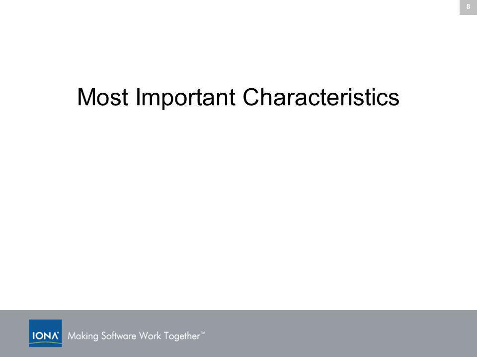 8 Most Important Characteristics