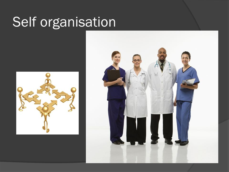 Self organisation