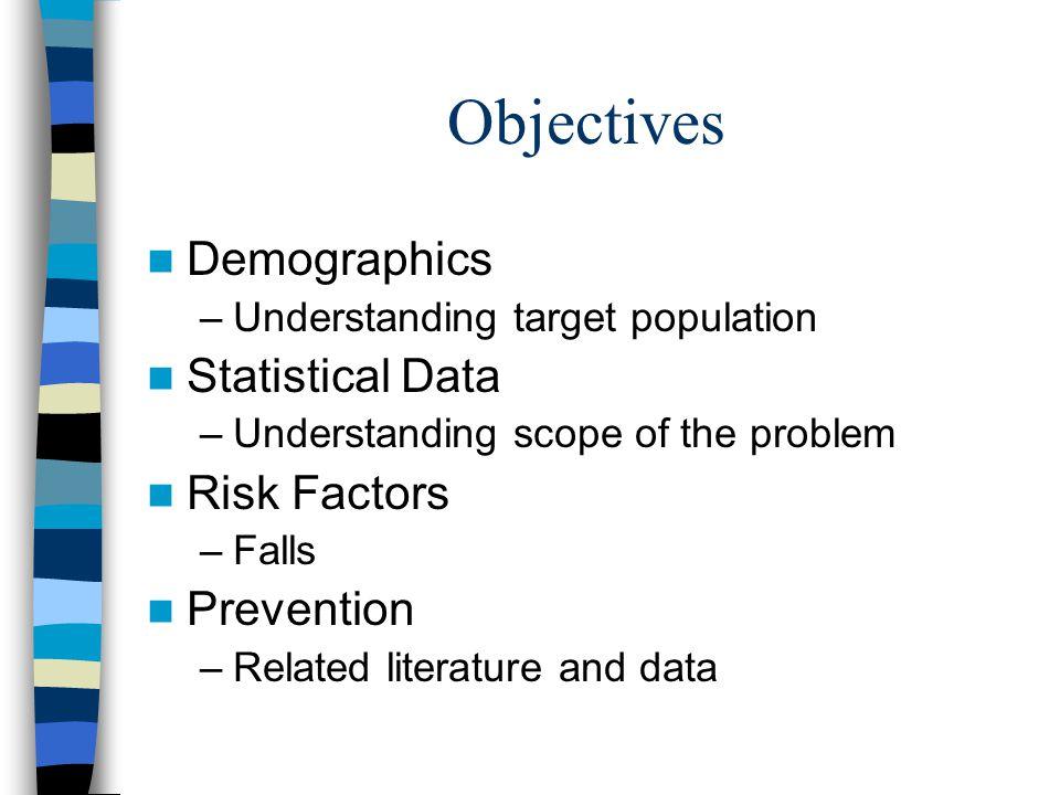Understanding An Aging Population Keirsten D.