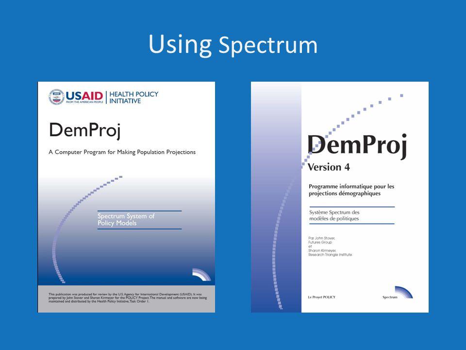 Using Spectrum