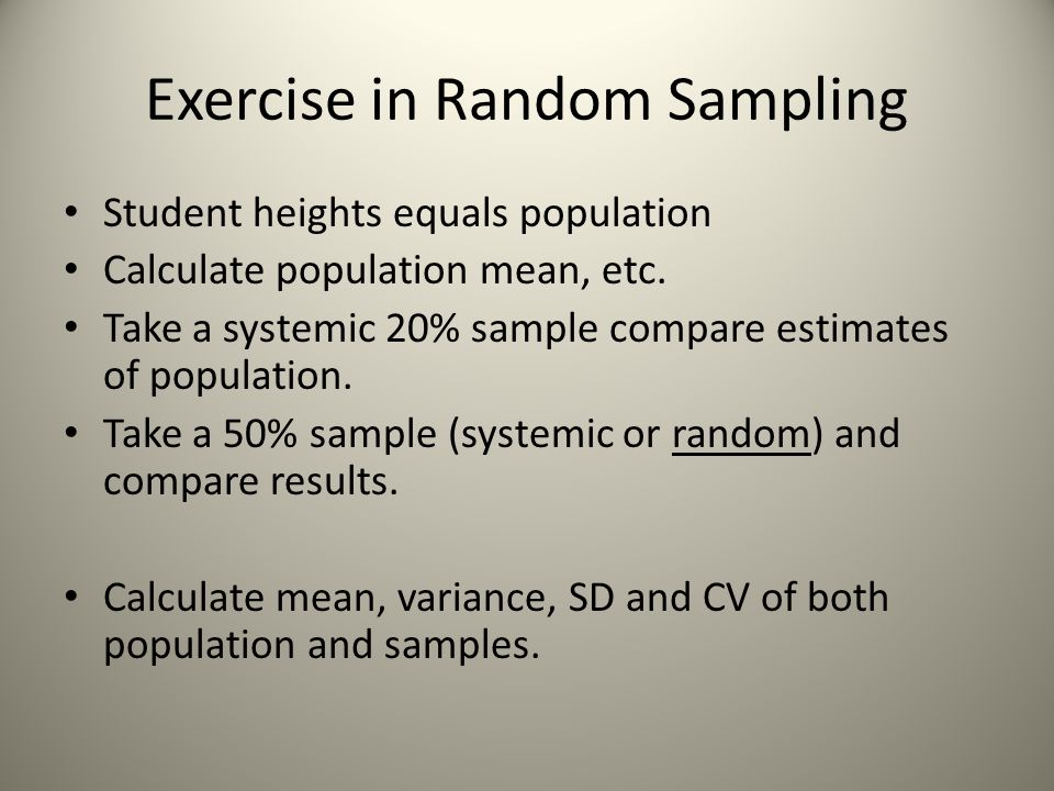 Variability The differences between individuals or units in a population