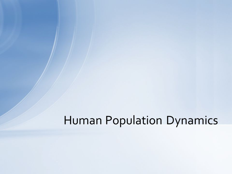 Demographic Transition Process occurring during last ~100 years Stabilization of population growth in highly developed nations