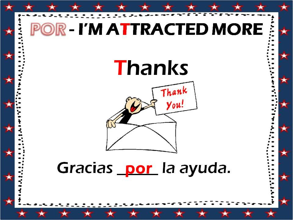 Thanks por