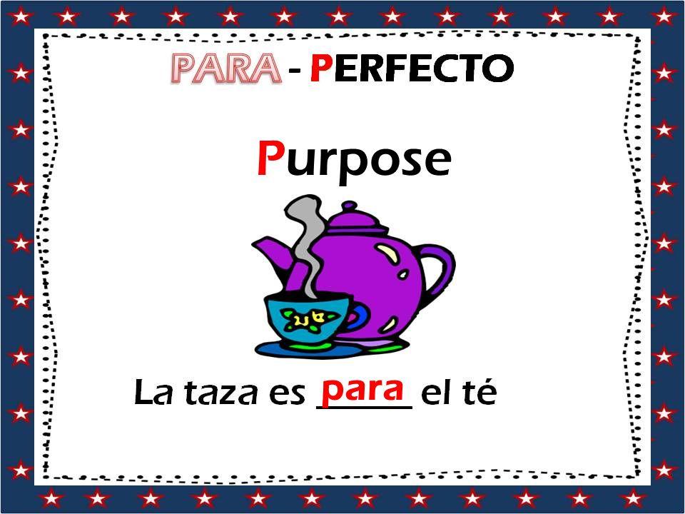Purpose para