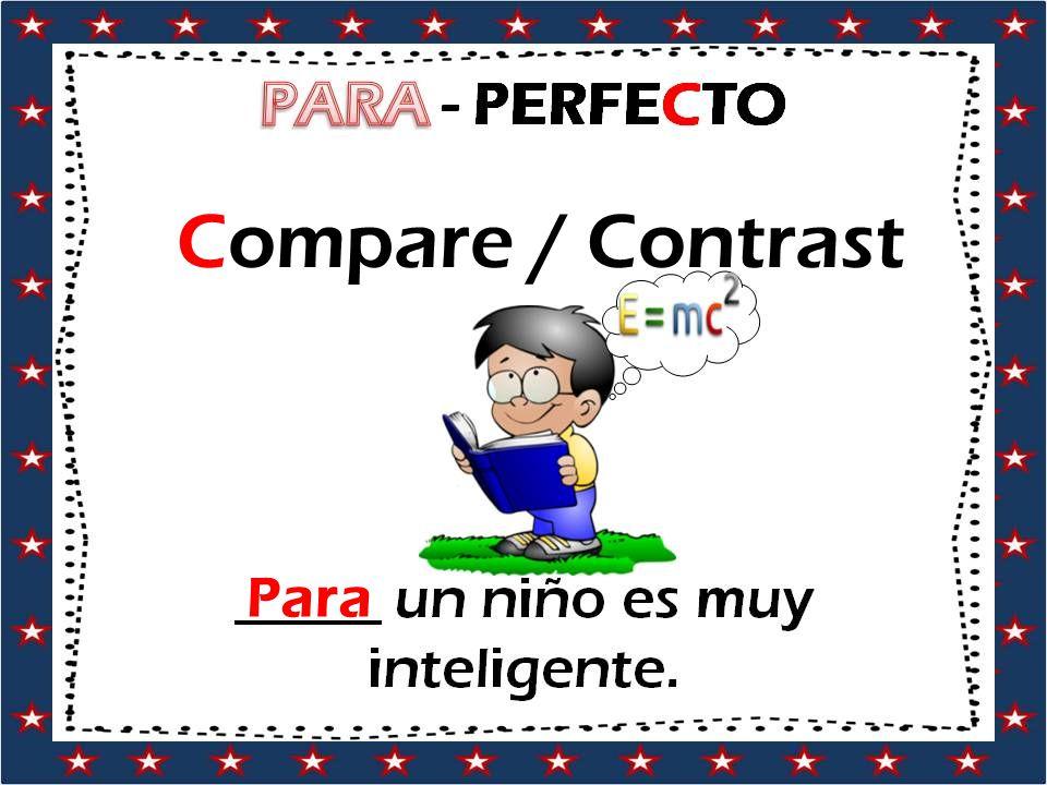 Compare / Contrast Para