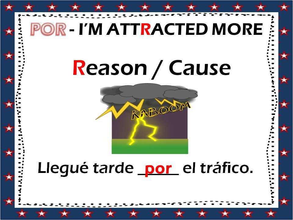 Reason / Cause por